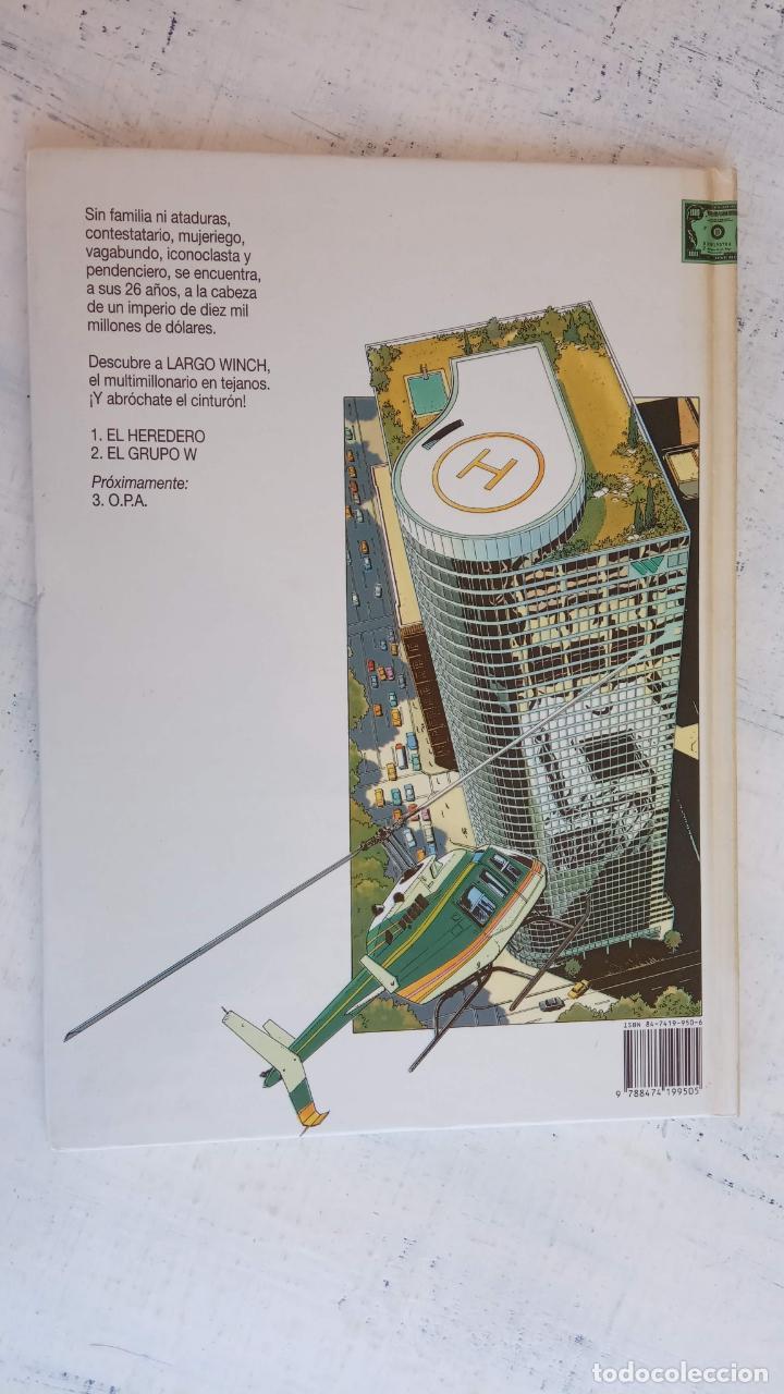 Cómics: LARGO WINCH NºS 1,2,3,4,5,6 - TAPA DURA - PHILIPPE FRANCQ - JEAN VAN AMME - 1992-1995 - 44 IMÁGENES - Foto 29 - 158146242