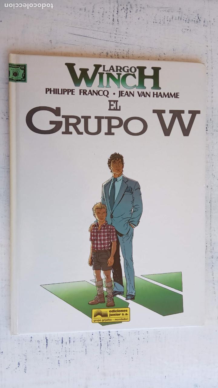 Cómics: LARGO WINCH NºS 1,2,3,4,5,6 - TAPA DURA - PHILIPPE FRANCQ - JEAN VAN AMME - 1992-1995 - 44 IMÁGENES - Foto 31 - 158146242