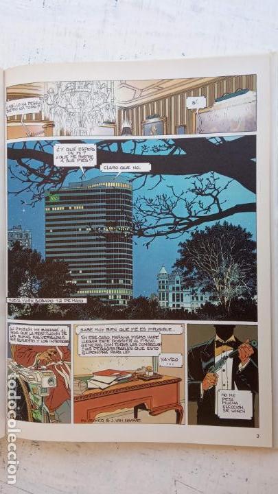 Cómics: LARGO WINCH NºS 1,2,3,4,5,6 - TAPA DURA - PHILIPPE FRANCQ - JEAN VAN AMME - 1992-1995 - 44 IMÁGENES - Foto 33 - 158146242