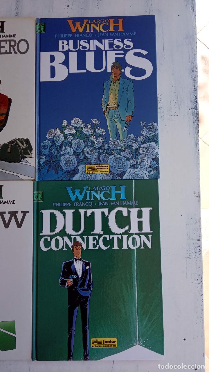 Cómics: LARGO WINCH NºS 1,2,3,4,5,6 - TAPA DURA - PHILIPPE FRANCQ - JEAN VAN AMME - 1992-1995 - 44 IMÁGENES - Foto 38 - 158146242