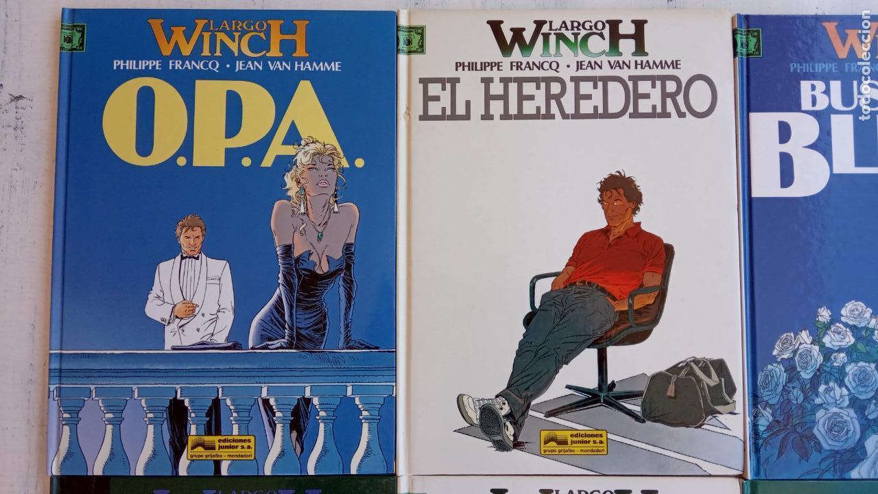 Cómics: LARGO WINCH NºS 1,2,3,4,5,6 - TAPA DURA - PHILIPPE FRANCQ - JEAN VAN AMME - 1992-1995 - 44 IMÁGENES - Foto 39 - 158146242