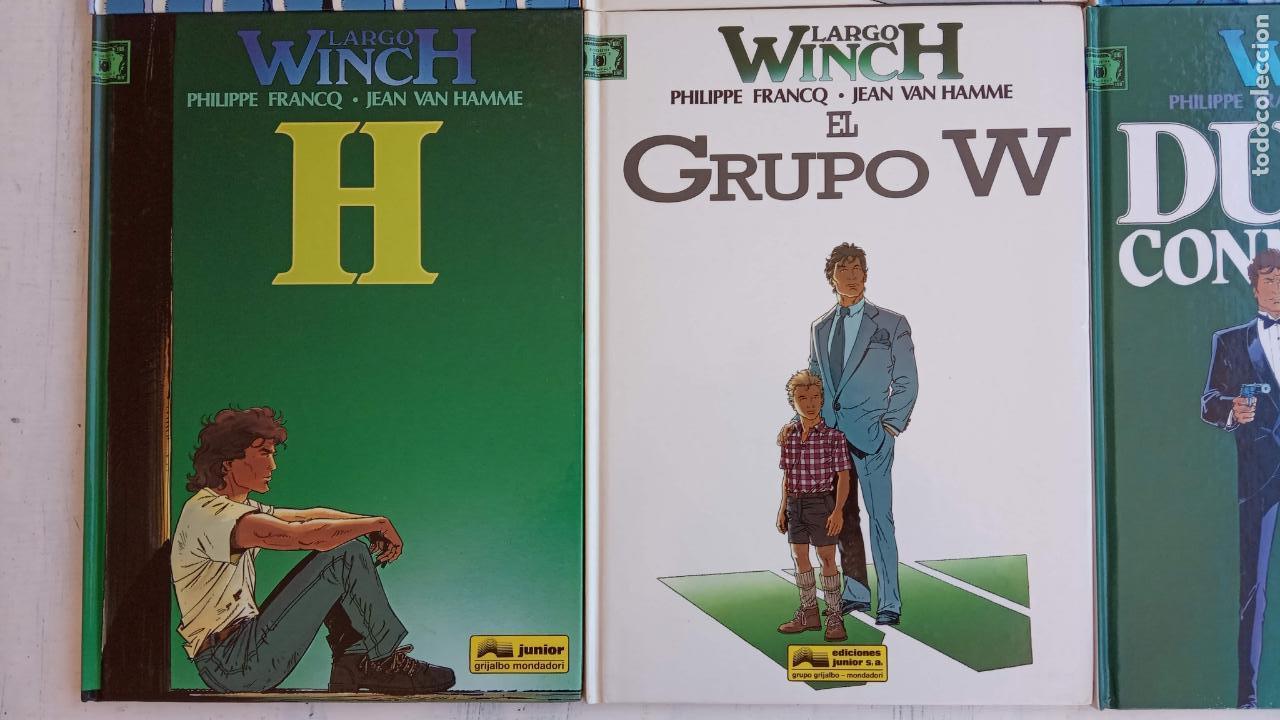 Cómics: LARGO WINCH NºS 1,2,3,4,5,6 - TAPA DURA - PHILIPPE FRANCQ - JEAN VAN AMME - 1992-1995 - 44 IMÁGENES - Foto 40 - 158146242