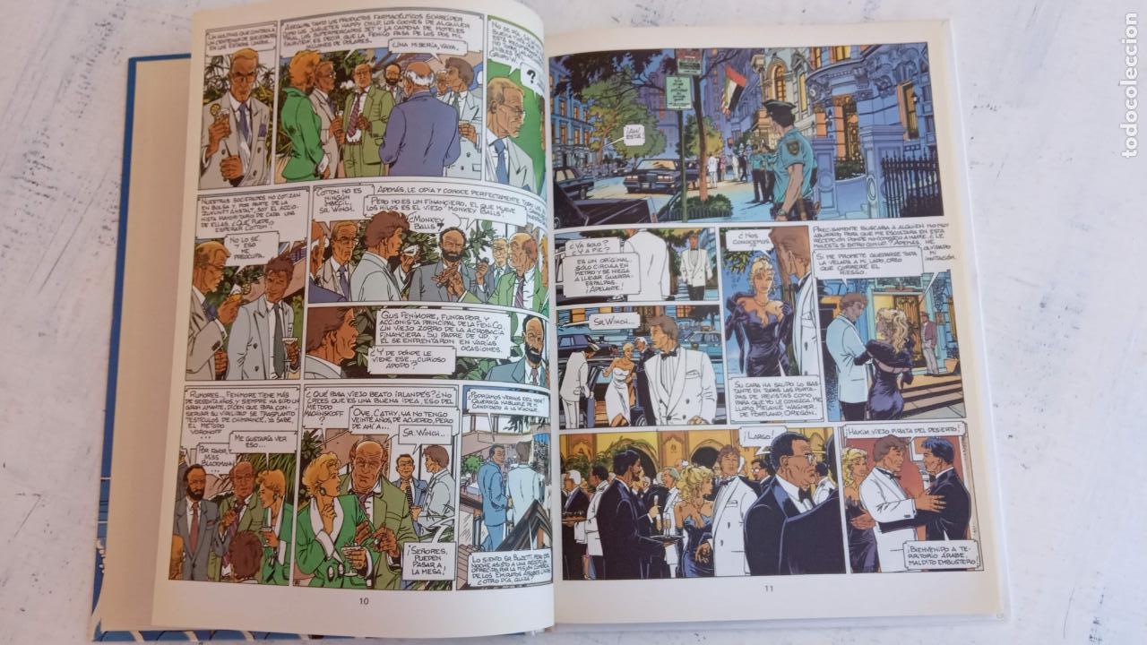 Cómics: LARGO WINCH NºS 1,2,3,4,5,6 - TAPA DURA - PHILIPPE FRANCQ - JEAN VAN AMME - 1992-1995 - 44 IMÁGENES - Foto 43 - 158146242