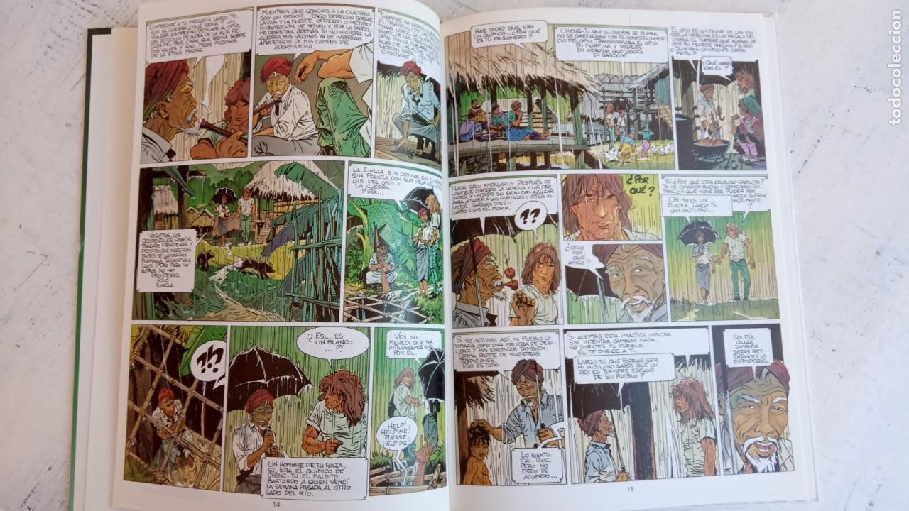 Cómics: LARGO WINCH NºS 1,2,3,4,5,6 - TAPA DURA - PHILIPPE FRANCQ - JEAN VAN AMME - 1992-1995 - 44 IMÁGENES - Foto 12 - 158146242