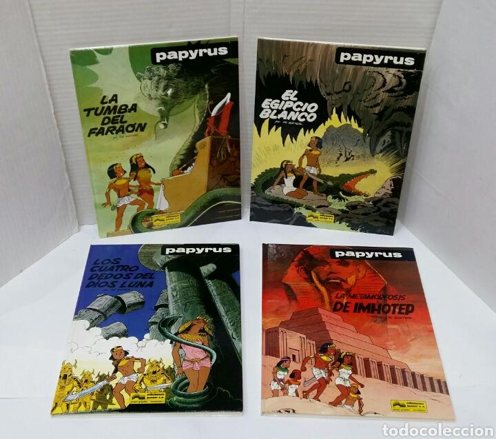 PAPYRUS. LOTE 4 NÚMEROS. 4, 5, 6 Y 8. TOTALMENTE NUEVOS. DE GIETER. GRIJALBO. TAPA DURA. (Tebeos y Comics - Grijalbo - Papyrus)