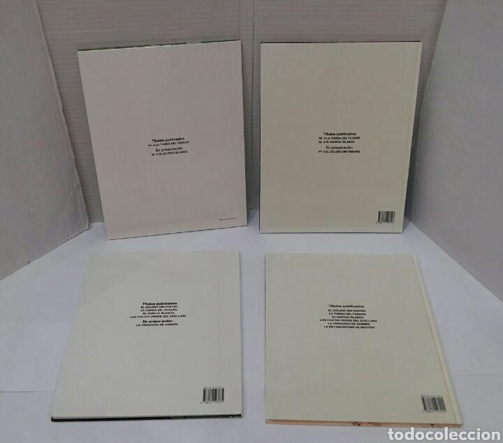 Cómics: PAPYRUS. LOTE 4 NÚMEROS. 4, 5, 6 Y 8. TOTALMENTE NUEVOS. DE GIETER. GRIJALBO. TAPA DURA. - Foto 2 - 158174137