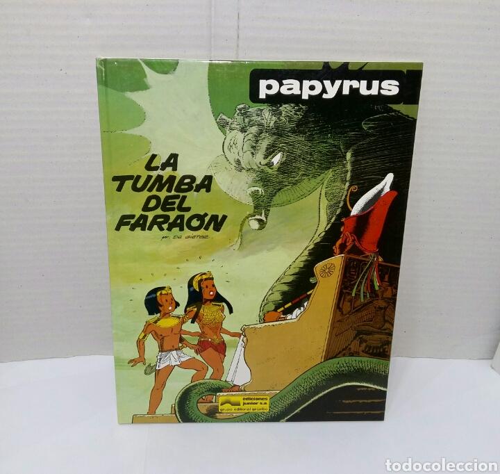 Cómics: PAPYRUS. LOTE 4 NÚMEROS. 4, 5, 6 Y 8. TOTALMENTE NUEVOS. DE GIETER. GRIJALBO. TAPA DURA. - Foto 3 - 158174137