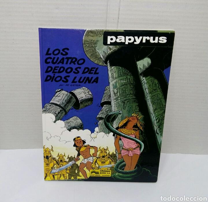 Cómics: PAPYRUS. LOTE 4 NÚMEROS. 4, 5, 6 Y 8. TOTALMENTE NUEVOS. DE GIETER. GRIJALBO. TAPA DURA. - Foto 5 - 158174137