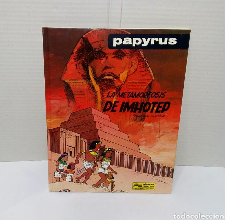 Cómics: PAPYRUS. LOTE 4 NÚMEROS. 4, 5, 6 Y 8. TOTALMENTE NUEVOS. DE GIETER. GRIJALBO. TAPA DURA. - Foto 6 - 158174137
