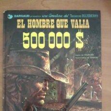 Comics - BLUEBERRY : EL HOMBRE QUE VALÍA 500000 $ - Nº 8 / 1980 - 131306731