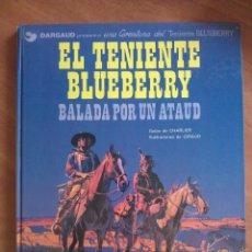 Comics - BLUEBERRY: BALADA POR UN ATAUD / Nº 9 - 1982 - 131306927