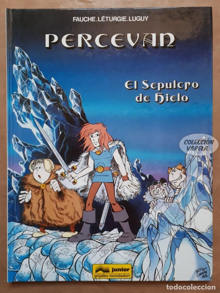 PERCEVAN - Nº 2 - EL SEPULCRO DE HIELO - LÉTURGIE Y LUGUY - GRIJALBO - CARTONÉ - JMV (Tebeos y Comics - Grijalbo - Percevan)