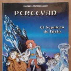Comics: PERCEVAN - Nº 2 - EL SEPULCRO DE HIELO - LÉTURGIE Y LUGUY - GRIJALBO - CARTONÉ - JMV. Lote 158270814