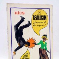 Cómics: LA REVOLUCIÓN FEMENINA DE LAS MUJERES (RIUS) GRIJALBO MÉXICO, 1978. Lote 158416558