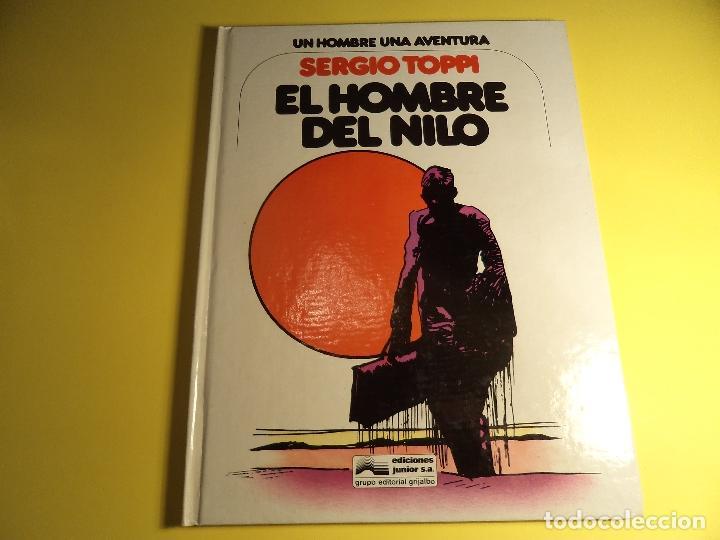 EL HOMBRE DEL NILO. SERGIO TOPPI. JUNIOR. (A-B) (Tebeos y Comics - Grijalbo - Otros)