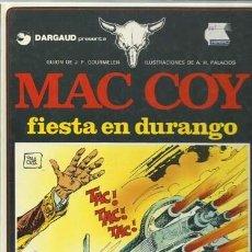 Cómics: MAC COY 10: FIESTA EN DURANGO, 1983, GRIJALBO, MUY BUEN ESTADO. COLECCIÓN A.T.. Lote 158489550
