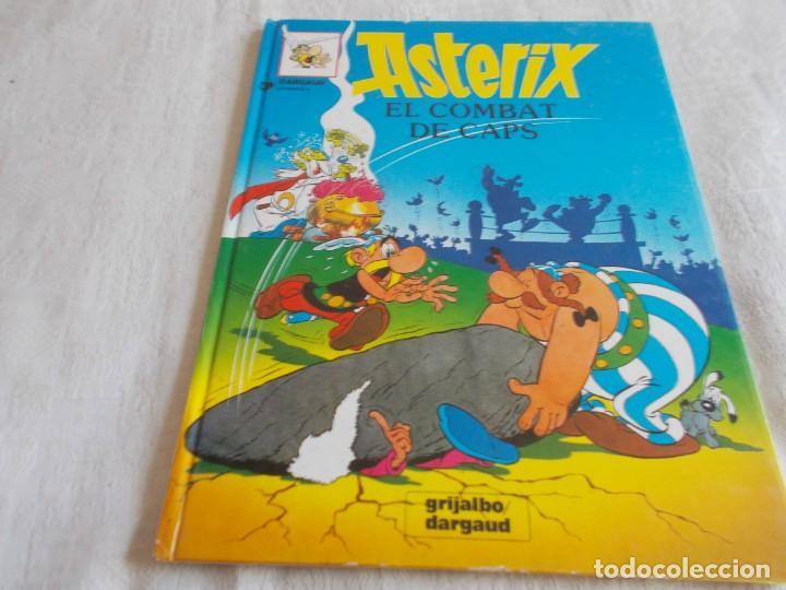 ASTERIX Nº 10 EL COMBAT DE CAPS (Tebeos y Comics - Grijalbo - Asterix)
