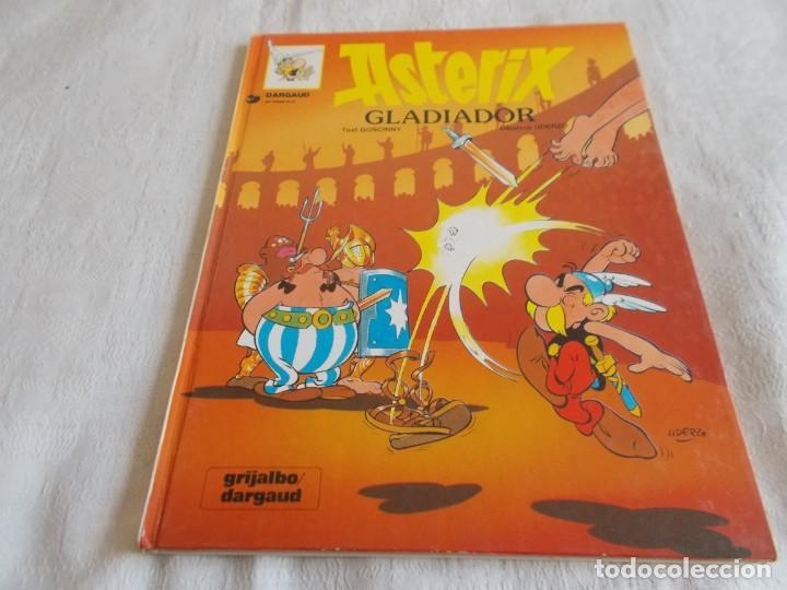 ASTERIX Nº 4 GLADIADOR (Tebeos y Comics - Grijalbo - Asterix)