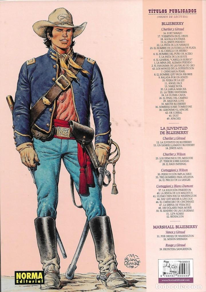 Cómics: El Teniente Blueberry Años 1977/ 2019 Lote de 52 Tebeos de Tapas Duras Nº 1 al 52 colección completa - Foto 31 - 134259782