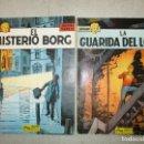 Cómics: LEFRANC - EL MISTERIO DE BORG Y LA GUARIDA DEL LOBO - TAPA RUSTICA - JACQUES MARTIN - JUNIOR. Lote 158789698