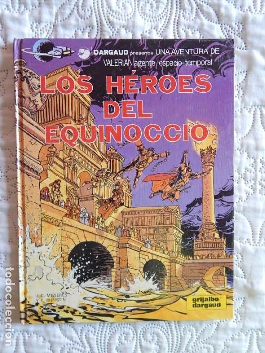 VALERIAN AGENTE ESPACIO - TEMPORAL - LOS HEROES DEL EQUINOCCIO N. 7 (Tebeos y Comics - Grijalbo - Valerian)