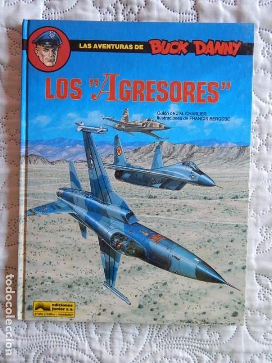 LAS AVENTURAS DE BUCK DANY - LOS AGRESORES - 44 (Tebeos y Comics - Grijalbo - Buck Danny)