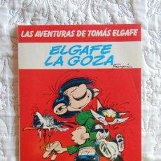 Cómics: LAS AVENTURAS DE TOMAS ELGAFE - ELGAFE LA GOZA N. 4. Lote 158889498