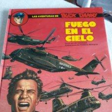 Cómics: LAS AVENTURAS DE BUCK DANNY FUEGO EN EL CIELO. JUNIOR. Lote 158911740