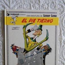 Comics : UNA AVENTURA DE LUCKY LUKE - EL PIE TIERNO - 4. Lote 158942158