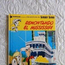 Comics : UNA AVENTURA DE LUCKY LUKE - REMONTANDO EL MISSISSIPI - 9. Lote 158942658