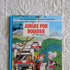 Comics : LAS AVENTURAS DE SPIROU Y FANTASIO - JUDIAS POR DOQUIER N. 41. Lote 158961422
