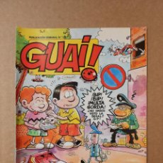 Fumetti: GUAI Nº 145 - REVISTA DE HUMOR - EDICIONES JUNIOR / TEBEOS S.A.. Lote 159093374