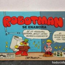 Cómics: ROBOTMAN Nº 03 - SE ENAMORA - JIM MEDDICK - EDICIONES JUNIOR - GRIJALBO. Lote 159112726
