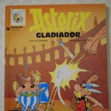 Cómics: ASTERIX GLADIADOR. GOSCINNY - UDERZO. GIJALBO/DARGAUD 1996. TAPA BLANDA. COLOR. 48 PAGINAS. 170 GRAM. Lote 159142398