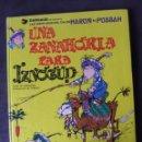 Cómics: LAS AVENTURAS DEL CALIFA HARUN EL PUSSAH Nº 1 UNA ZANAHORIA PARA IZNOGUD GRIJALBO 1990. Lote 159195870