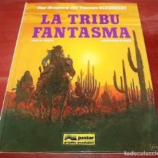 Cómics: LA TRIBU FANTASMA - EL TENIENTE BLUEBERRY - CHARLIER/GIRAUD - GRIJALBO - 1996. Lote 159436234