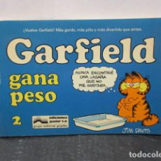 Cómics: GARFIELD. Nº 2. JIM DAVIS. JUNIOR GRIJALBO. Lote 159578374