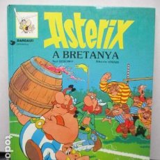 Cómics: ASTERIX A BRETANYA .IN BRITAIN. Nº 12. GRIJALBO. DARGAUD. EN CATALÁ I INGLES.. Lote 159608606