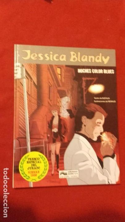 JESSICA BLANDY 4 - NOCHES COLOR BLUES - DUFAUX & RENAUD - CARTONE (Tebeos y Comics - Grijalbo - Otros)
