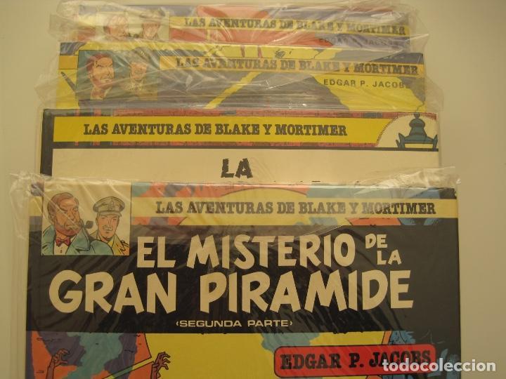 LAS AVENTURAS DE BLAKE Y MORTIMER-COMPLETA- EDGAR P JACOBS -JUNIOR GRIJALBO-12 TOMOS+ RAYO U (Tebeos y Comics - Grijalbo - Blake y Mortimer)