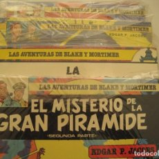 Cómics: LAS AVENTURAS DE BLAKE Y MORTIMER-COMPLETA- EDGAR P JACOBS -JUNIOR GRIJALBO-12 TOMOS+ RAYO U. Lote 160216662