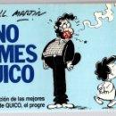 Cómics: NO FUMES QUICO. Nº 3. SELECCION DE LAS MEJORES TIRAS DE QUICO, EL PROGRE. JOSE LUIS MARTIN. Lote 160234701