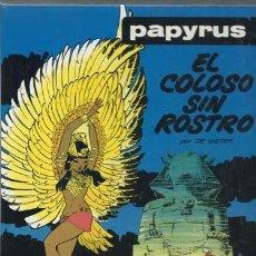Cómics: PAPYRUS 3: EL COLOSO SIN ROSTRO, 1989, EDICIONES JUNIOR, MUY BUEN ESTADO. Lote 160349750