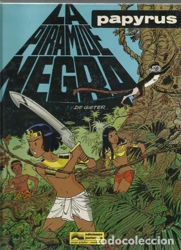 PAPYRUS 10: LA PIRAMIDE NEGRA, 1991, EDICIONES JUNIOR, MUY BUEN ESTADO (Tebeos y Comics - Grijalbo - Papyrus)