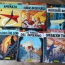 Cómics: LEFRANC 6 PRIMEROS TOMOS: LA AMENAZA HURACÁN DE FUEGO MISTERIO BORG GUARIDA DEL LOBO Y MÁS. Lote 160365758