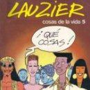 Cómics: LAUZIER COSAS DE LA VIDA 5 Nº 7 EDICIONES JUNIOR . Lote 160574922