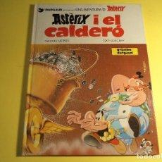 Cómics: ASTERIX I EL CALDERÓ. GRIJALBO / DARGAUD. EN CATALÀ. (A-B). Lote 160708346
