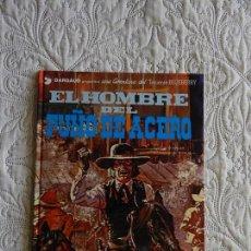 Cómics: UNA AVENTURA DEL TENIENTE BLUEBERRY - EL HOMBRE DEL PUÑO DE ACERO N.4. Lote 160715710
