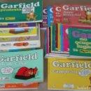 Cómics: GARFIELD 1 2 3 4 5 6 7 8 9 10 12 13 14 15 16 17 19 20 21 22 23 24 26 40 41 42 43 - TAMBIÉN SUELTOS. Lote 160901185
