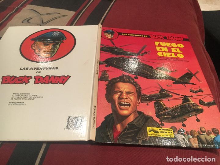LAS AVENTURAS DE BUCK DANNY Nº43 - FUEGO EN EL CIELO - 1989 - EDICIONES JUNIOR (Tebeos y Comics - Grijalbo - Buck Danny)